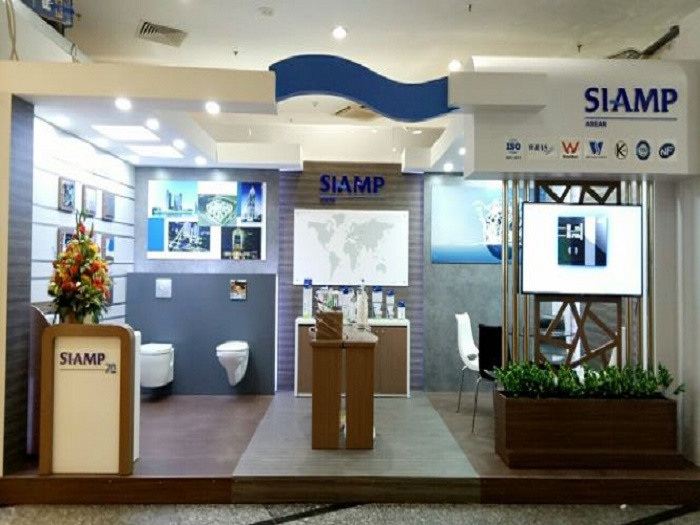 SIAMP presented at International Exhibition Vietbuild 2019 in HCMC, Vietnam