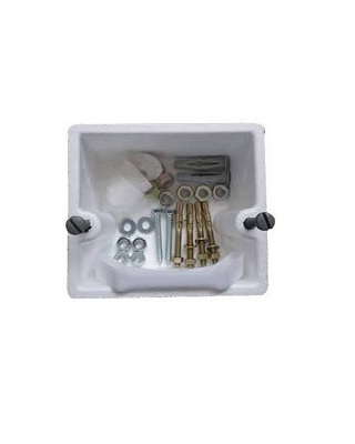 CLADDING RESERVATION & FIXATION ACCESSORIES SET