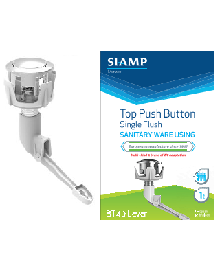 Single Flush Button BT40 Lever